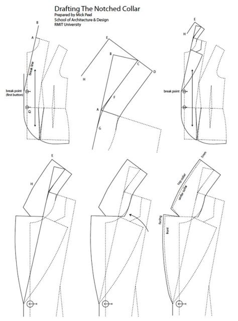 notches on pattern notch collar sewing patterns and tips pinterest