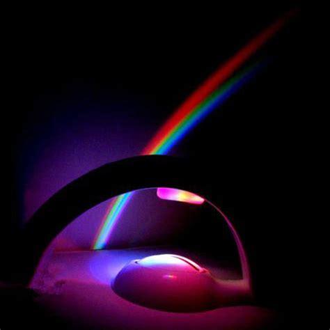 led rainbow projector light l mood light