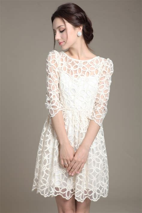 White Lace Dress lace dresses pjbb gown