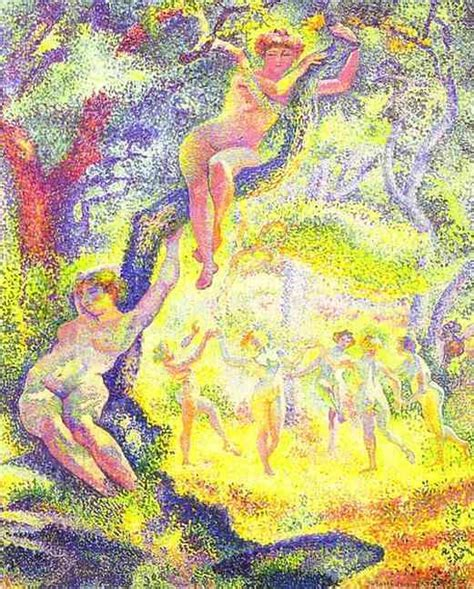 The Clearing the clearing by henri edmond cross artinthepicture
