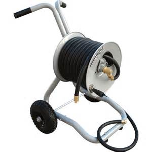 Garden Hose Reels by Product Roughneck Garden Hose Reel With Cart Holds
