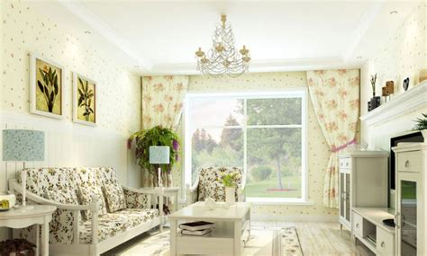 korea style interior design pastoral style living room interior layout interior design