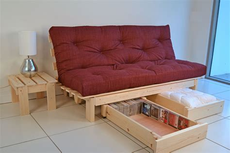 Sofa Bed With Storage Drawer Futon Storage Drawers Bm Furnititure