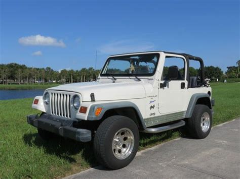 automobile air conditioning service 2008 jeep wrangler interior lighting purchase used 1998 jeep wrangler sport utility 2 door 4 0l in lake worth florida united states