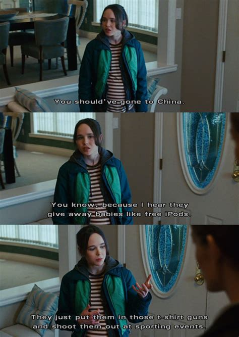 chinese film quotes babies china ellen page funny ipods image 118085 on