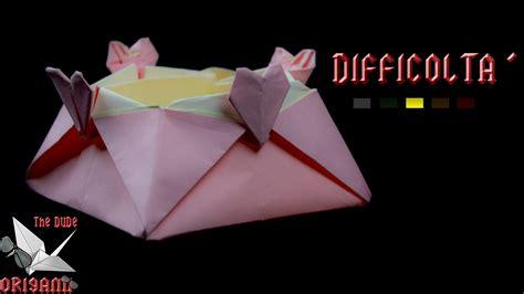 origami tutorial ita origami ita scatola cuore variante scatola stella jo