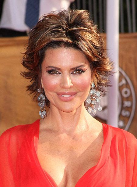 flipped up hair cut short flip hairstyles lisa rinna s awesome and fabulous