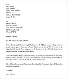 Certification Letter For Promotion promotional letters to customers from sales manager