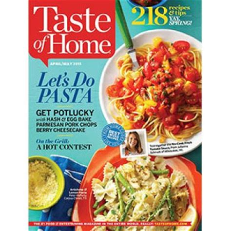 free taste of home subscription oh yes it s free
