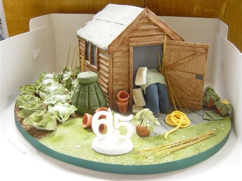 Shed Cakes by Allotment Shed Cake Allotment Cakes Sheds