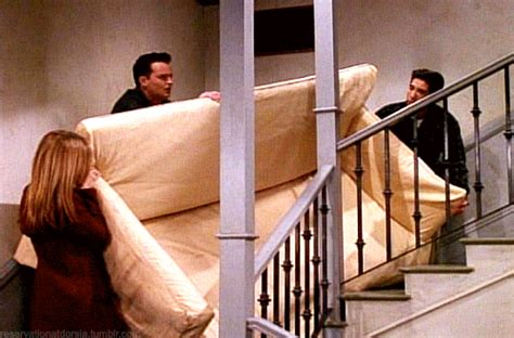 friends couch pivot how should you act towards your ex who dumped you