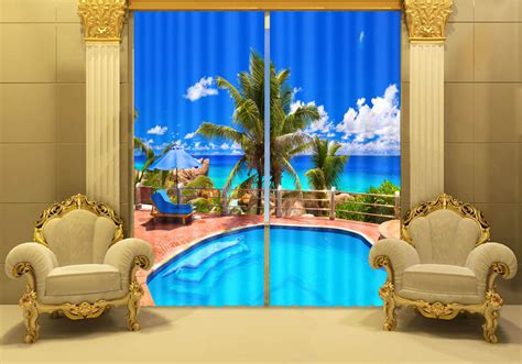 cool curtains for living room 2016 new hottest cool shower curtain 3d digital picture