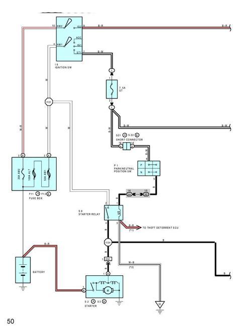 03 toyota 4runner efi wiring free wiring