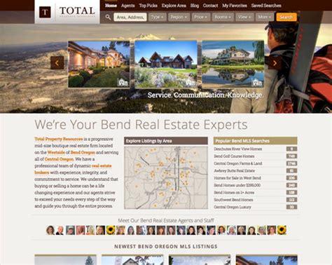house real estate websites website design development delicious design