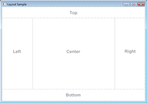 javafx vertical layout javafx borderpane layout tutorial