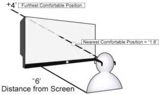 3d tv viewing distance explained a guide to an
