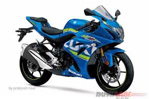 Suzuki Gsx 250 Rendering Suzuki Gixxer 250 Looks Sharp Inspired By
