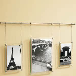 umbra trapeze metal wall hanging picture frame other
