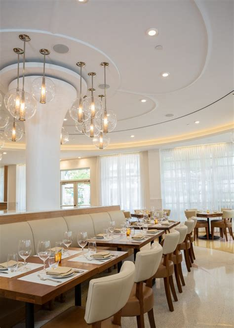the dining room at the berkeley hotel blt steak opens on south beach at the iberostar berkeley
