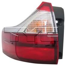 toyota sienna tail light cover 2015 toyota sienna rear tail light left driver
