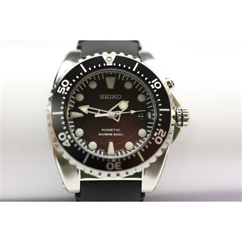 seiko kinetic diver review pictures to pin on