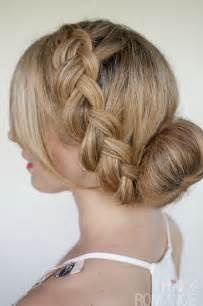 braided updo hairstyle with and wavy hair why you need to change your hair care routine in winter