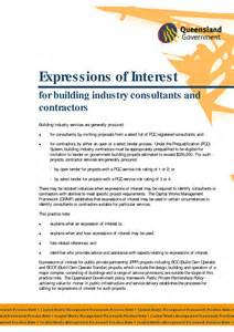 sle expression of interest letter for scholarship how