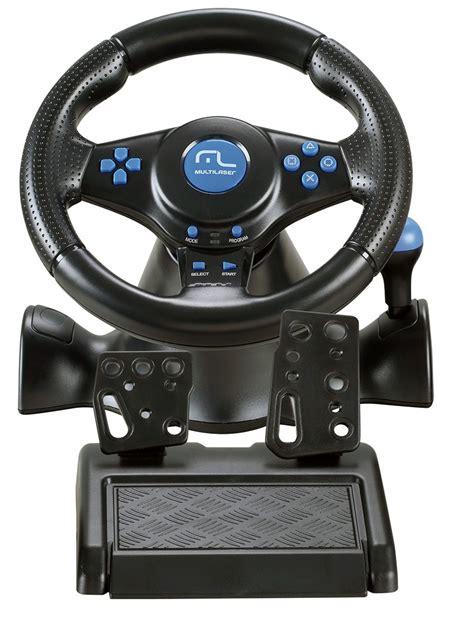 joystick volante volante joystick pedal multilaser racer 3x1 para ps2 ps3