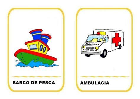 imagenes animadas medios de transporte vocabulario medios de transporte