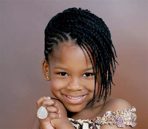african american kids braided in mohawk cute micro braids hairstyles natural black hairstyles
