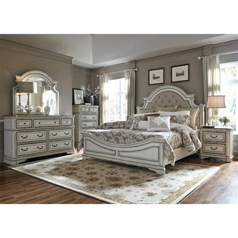 exclusive silver king size bedroom sets ideas with button liberty furniture magnolia manor libe grp 244 kingsuite