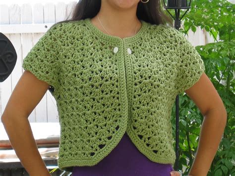 how to crochet a sweater crochet bolero sweater crochet for beginners
