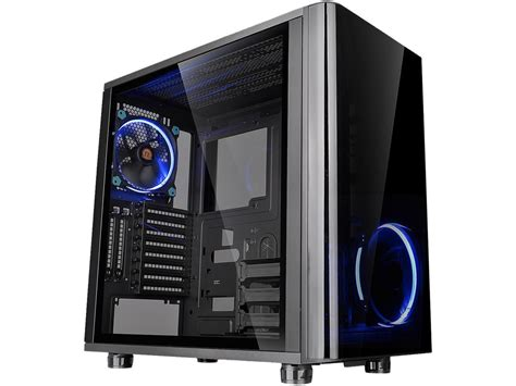 Casing Black computer cases desktop gaming pc cases newegg