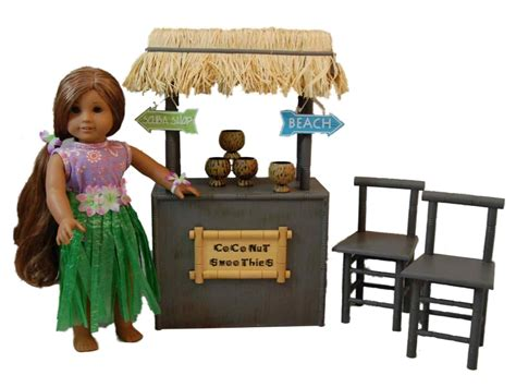 american girl doll chairs coconut smoothie shaved ice stand furniture accessories