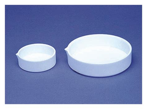 Ptfe Glass Teflon Glass 130mm X 30cm fisherbrand low and form ptfe evaporating dishes