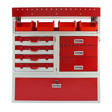 metal tool storage drawers van racking metal shelving system steel rack tool storage