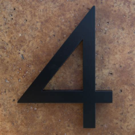 house numbers and letters house numbers black home ideas