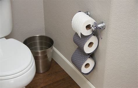 How To Make A Toilet Paper - 15 diy toilet paper holder ideas