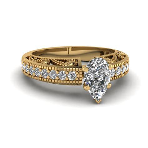 milgrain paisley ring fascinating diamonds