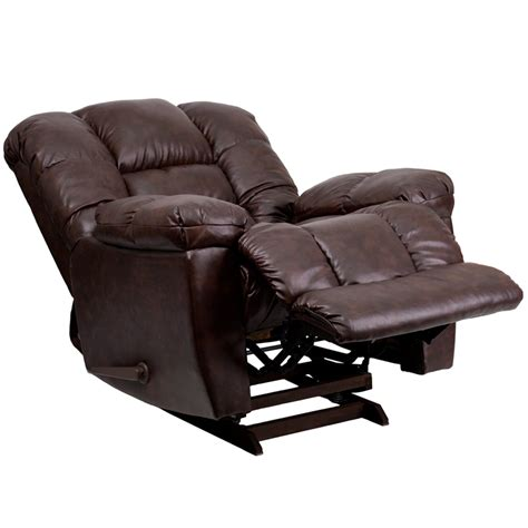 Leather Recliner Armchair by Small Leather Recliners Recliners Avanti Push Back