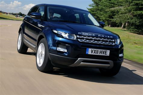 range rover evoque blue range rover evoque first drives auto express