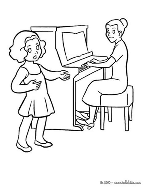 coloring pages for music class music lesson coloring pages hellokids com