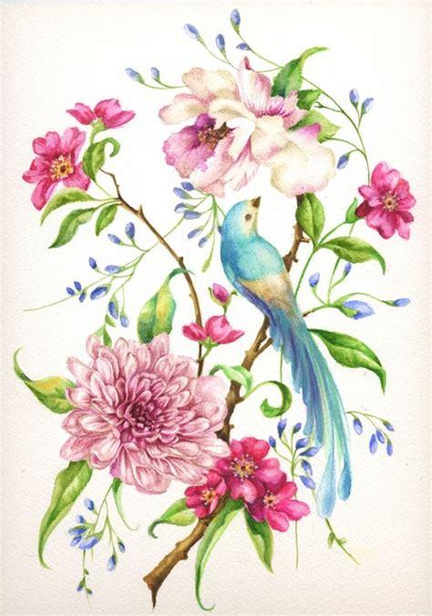 fiori di tutti i colori nicola rabbett bird design with chrysanthemum
