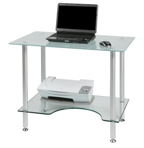 Small Glass Top Computer Desk Fabulous Computer Desk For Laptop With Furniture Black Glass With Small Glass Computer Desk