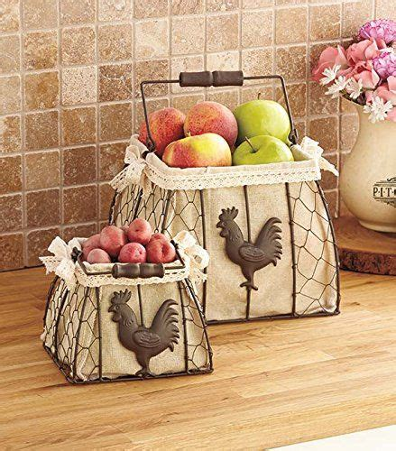 Chicken Decor For Kitchen by Best 25 Basket Decoration Ideas On Live