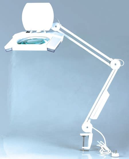 bench magnifier l 3 diopter illuminated fluorescent magnifying l