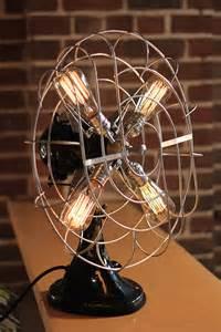 Copper Chandelier Vintage Fan Lamp By Dan Cordero Is An Elegant Design
