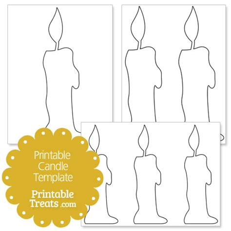 baptism candle template baptism candle clip