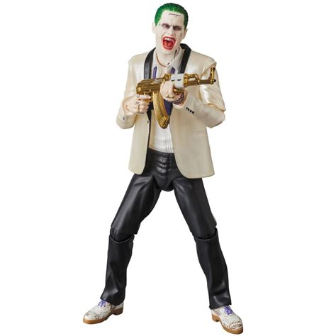 Medicom Mafex Joker Figure medicom mafex no 032 squad the joker suits ver figure