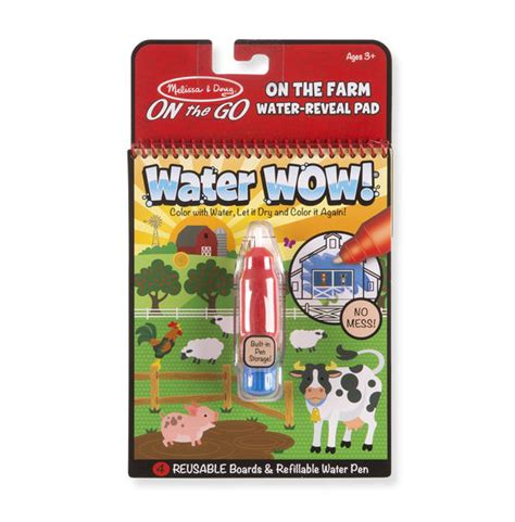 Doug Water Wow water wow farm on the go travel activity and doug